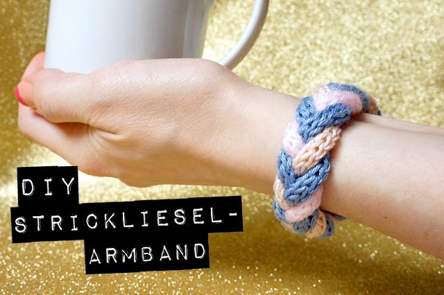 DiY Strickliesel-Armband | orangenmond.at