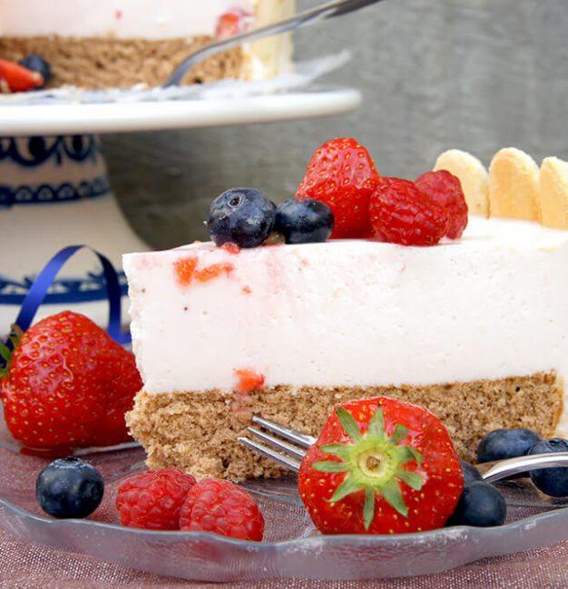 Erdbeer-Joghurt Charlotte