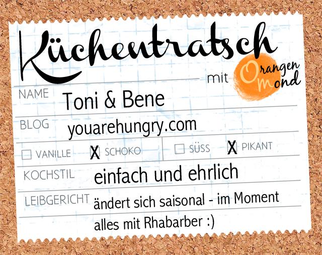 Steckbrief mit Toni & Bene | youarehungry.com