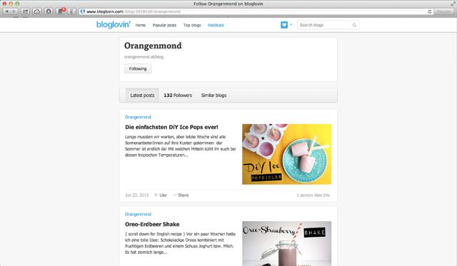 Follow Orangenmond on bloglovin