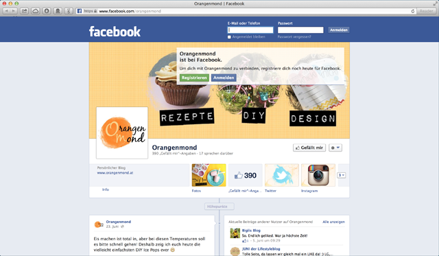Follow Orangenmond on Facebook