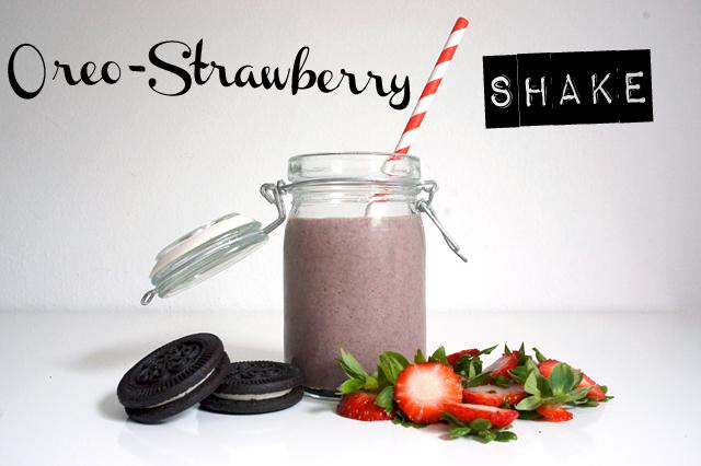 Oreo-Strawberry Shake