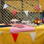Zirkus Gartenfest - das Buffet