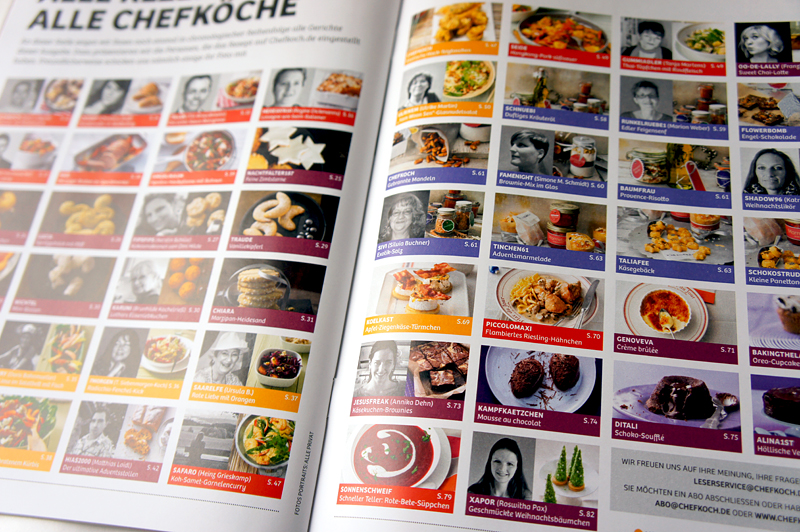 Lesestoff: Chefkoch Magazin