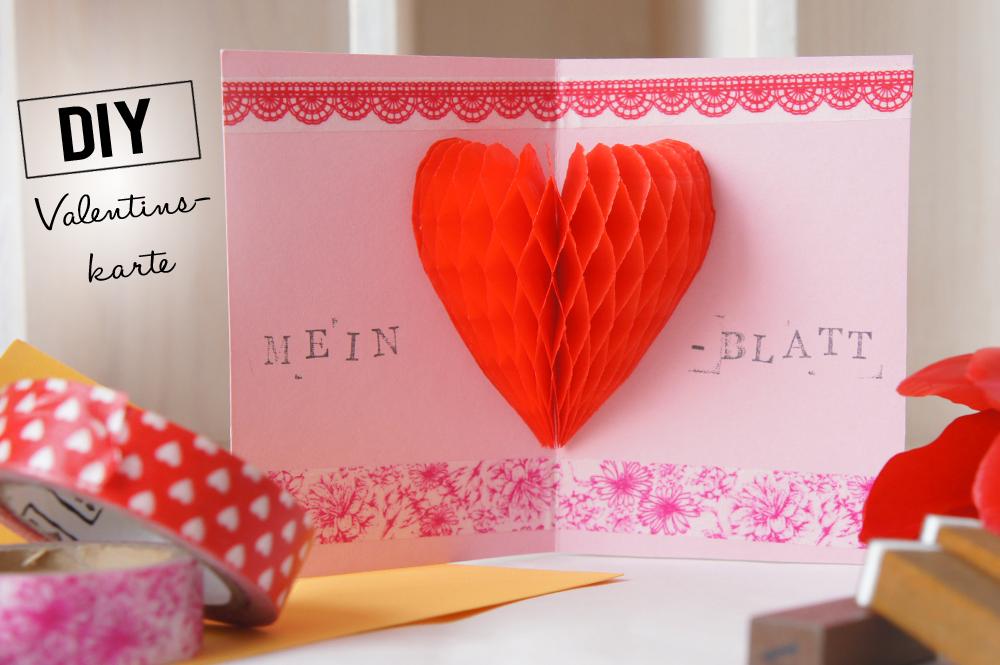 DiY Valentinstagskarte