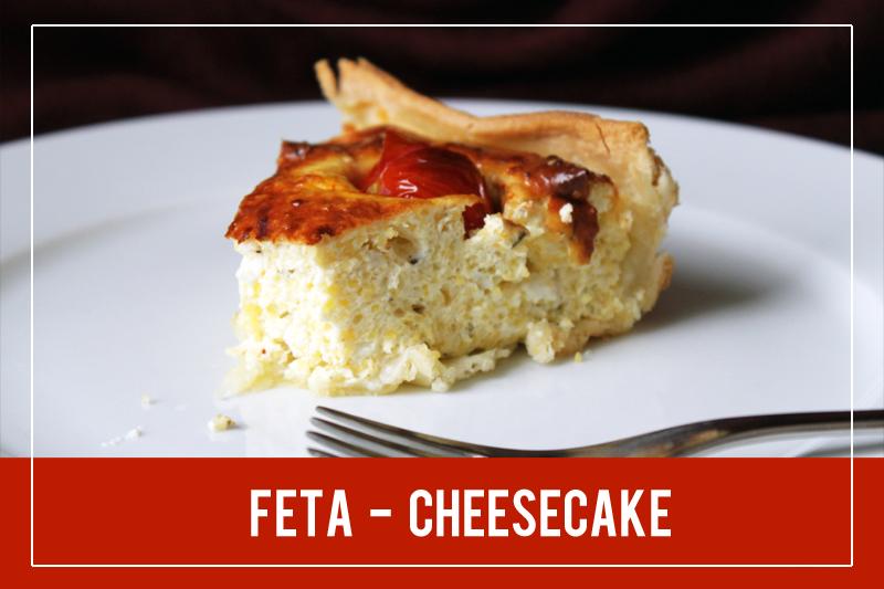 Feta Cheesecake