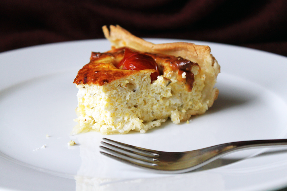 Feta-Cheesecake