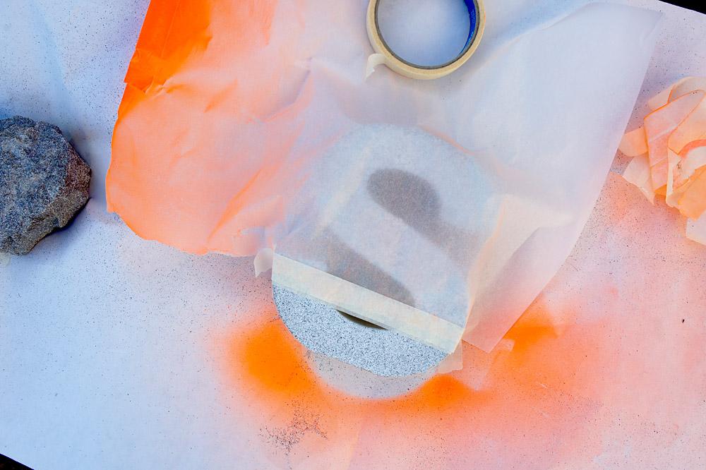 DiY Dekobuchstaben in Steinoptik | orangenmond.at