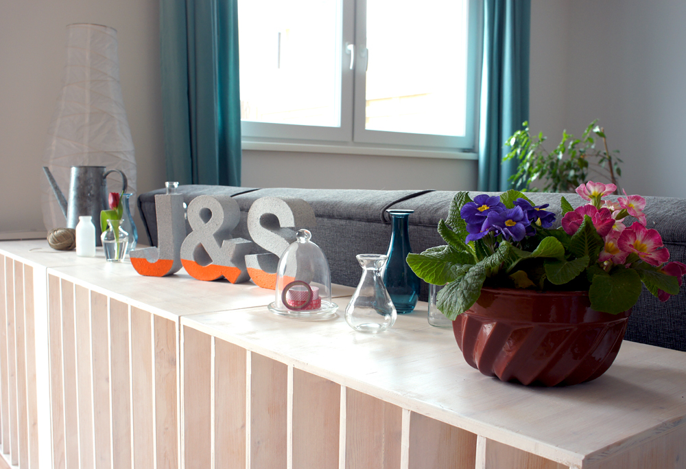 Frühlingsdeko Board | orangenmond.at