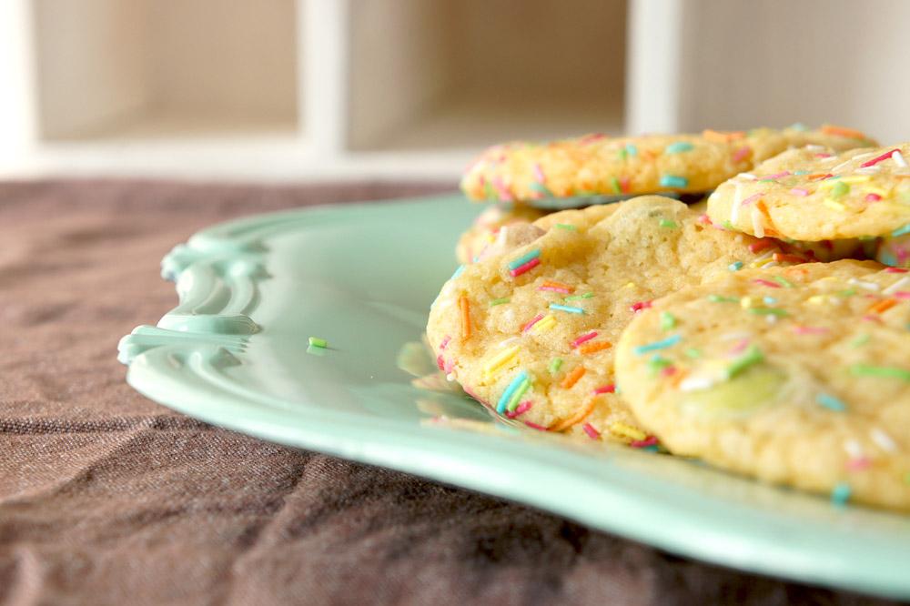 Funfetti Cookies   orangenmond.at