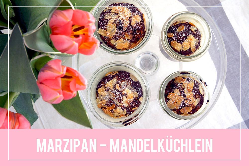 Marzipan-Mandelküchlein im Glas | orangenmond.at