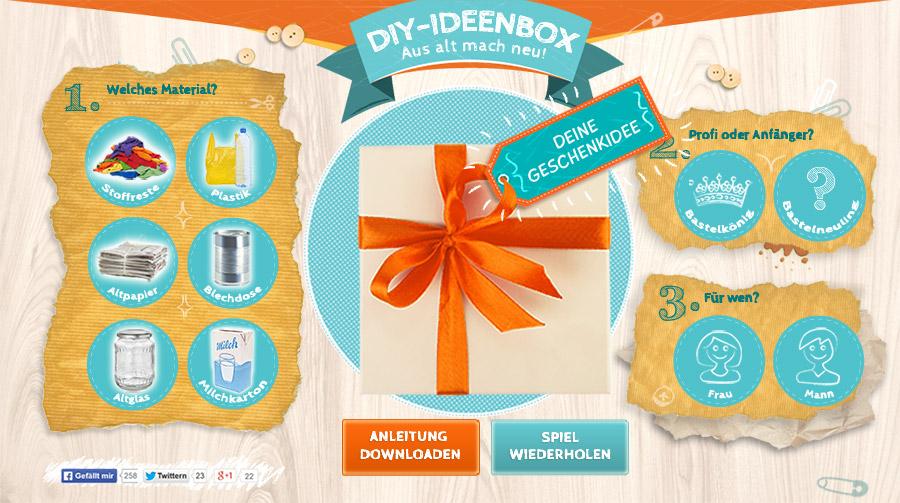 DiY Ideenbox