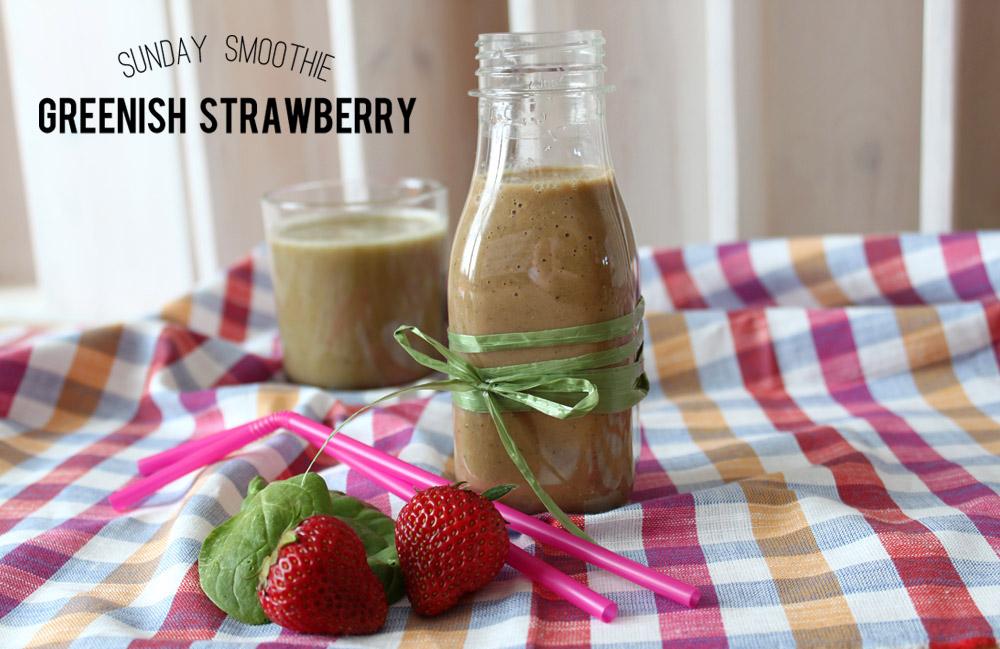 Sunday Smoothie: Greenish Strawberry   orangenmond.at