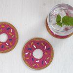 DiY Donut Untersetzer