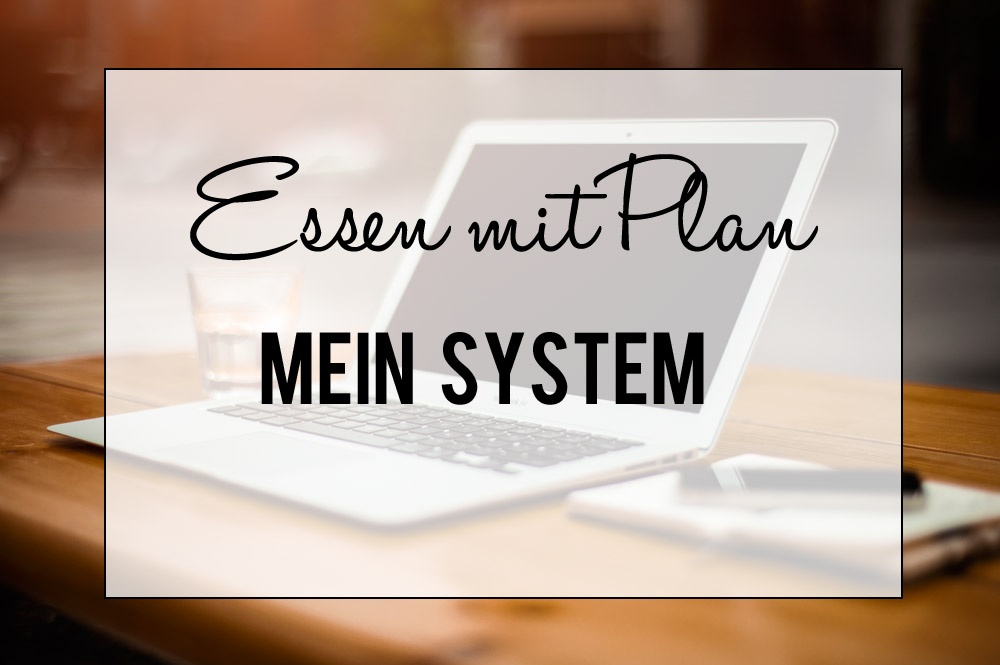 Essen mit Plan - mein System | orangenmond.at