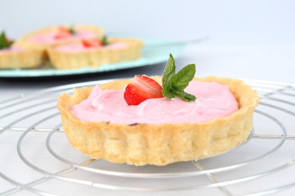 Erdbeer-Sahne Tartelettes | orangenmond.at