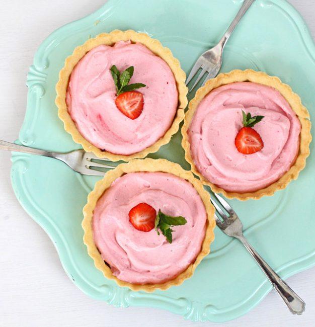 Erdbeer-Sahne Tartelettes