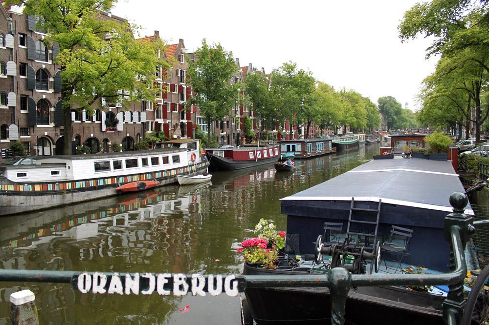 Amsterdam Oranjebrug