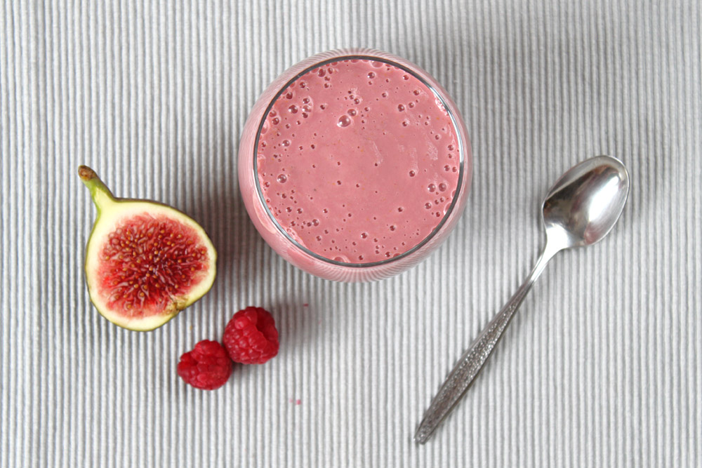 Sunday Smoothie: Feige Himbeere | orangenmond.at