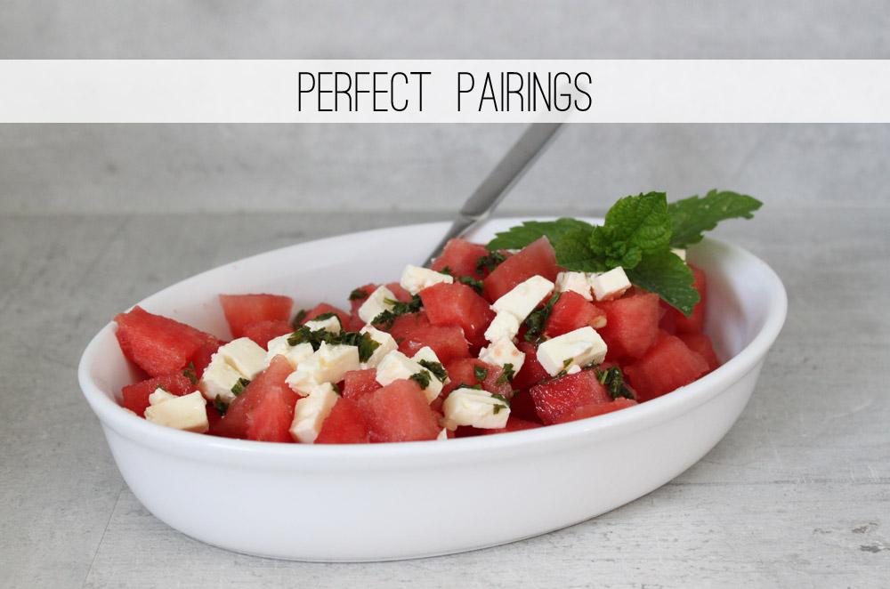 Perfect Pairings #3: Wassermelonen-Feta Salat