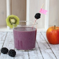 Sunday Smoothie: Brombeer-Kiwi Smoothie | orangenmond.at