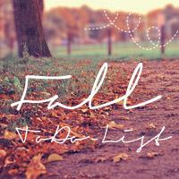 Fall ToDo List