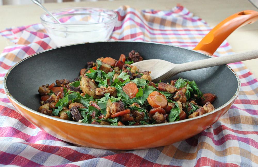 Essen mit Plan: Resteküche - Knödel G'röstel