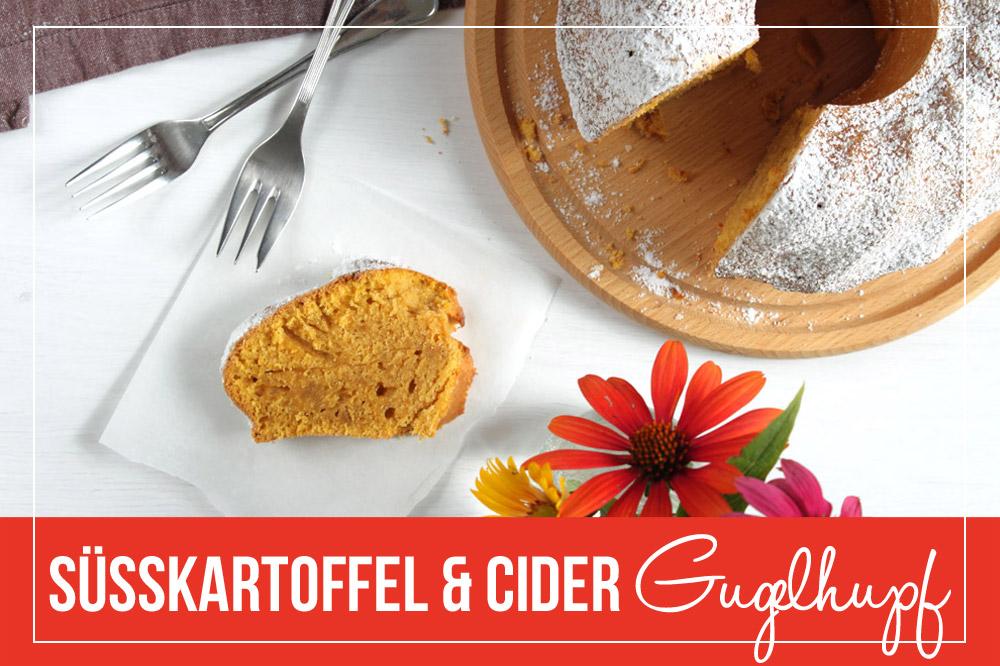Süßkartoffel Cider Gugelhupf
