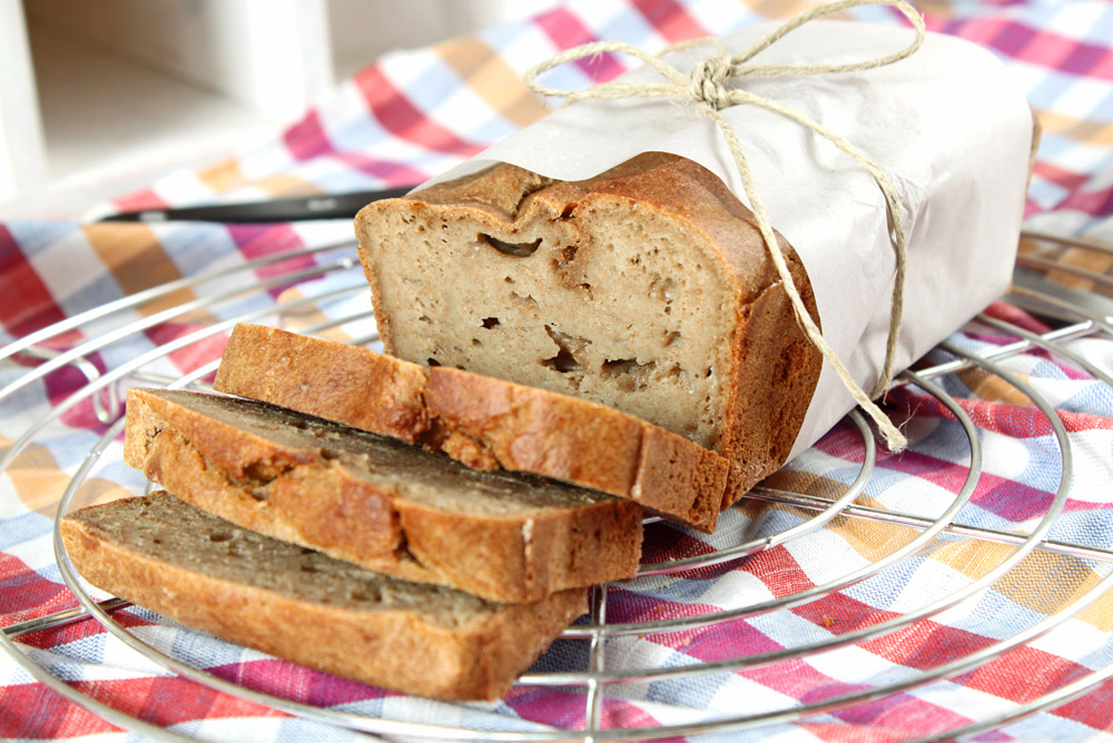 Bananenbrot ohne Zucker / Banabread without Sugar | orangenmond.at