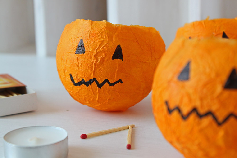 DiY Pumpkin Lantern | orangenmond.at