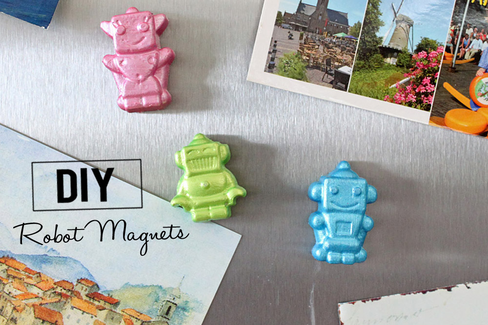 DiY Robot Magnets / DiY Roboter Magnete | orangenmond.at