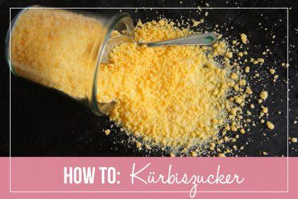 How To: Pumpkin Sugar / Kürbiszucker   orangenmond.at