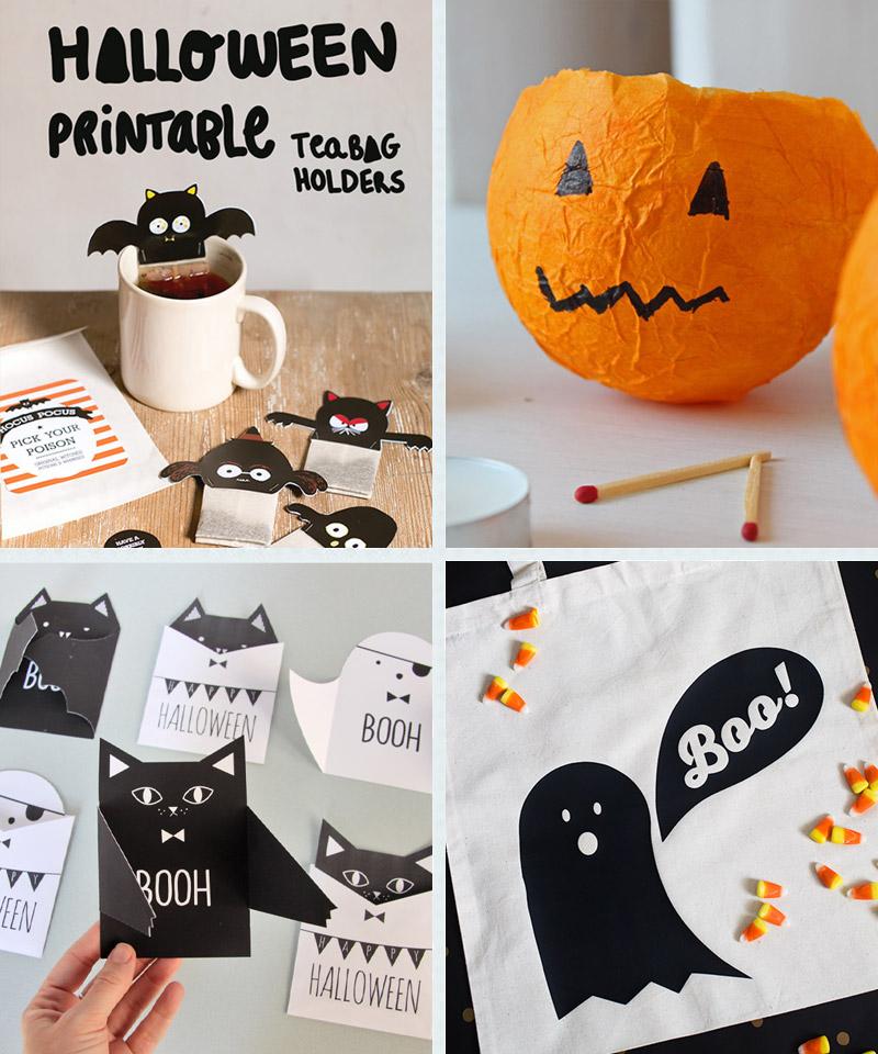 Last Minute Halloween Roundup: Crafty