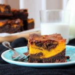 Pumpkin Brownies | orangenmond.at