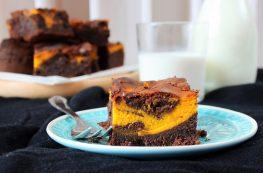 Pumpkin Brownies | orangenmond.at