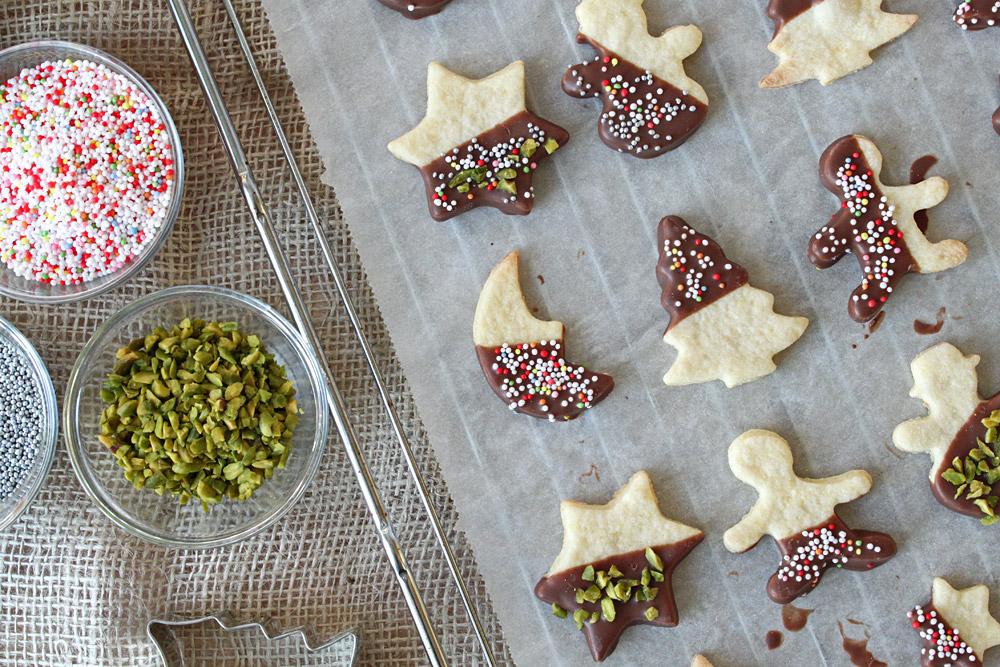 24 Days of Cookies - Day 1: Grundrezept Mürbteigkekse