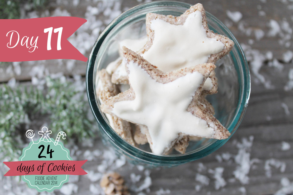 24 Days of Cookies - Day 11: Zimtsterne