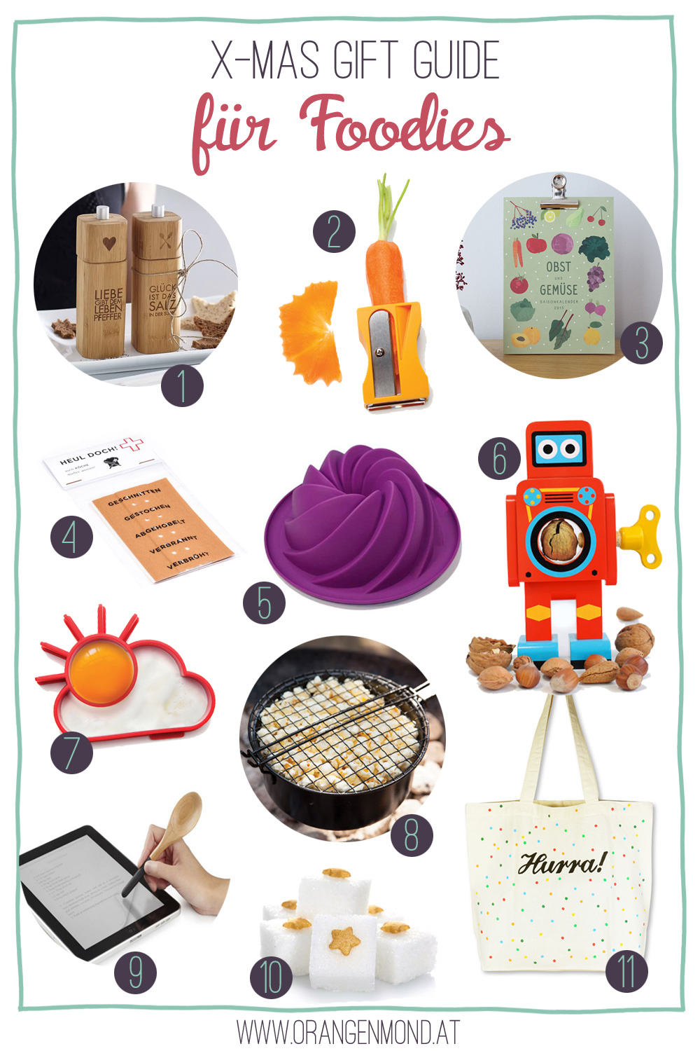 Christmas Gift Guide: Foodie Edition   orangenmond.at