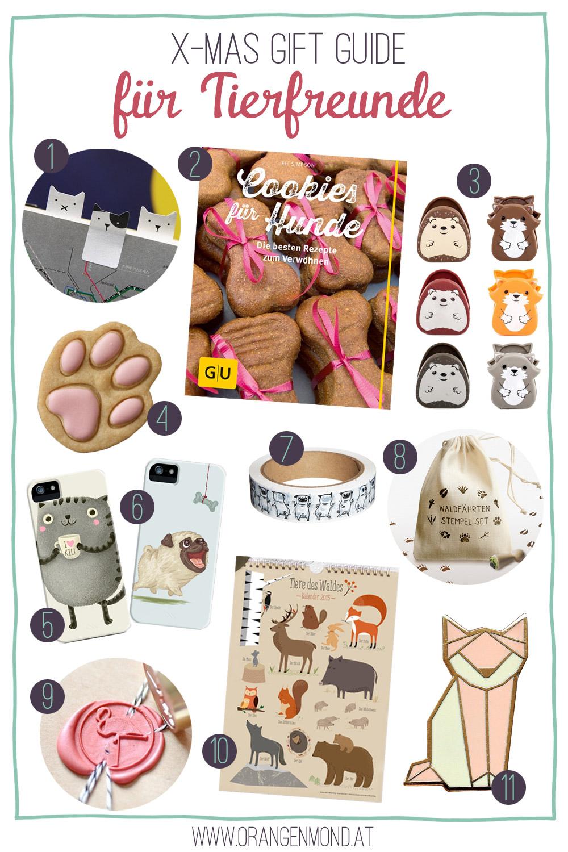 Christmas Gift Guide: für Tierfreunde | Orangenmond