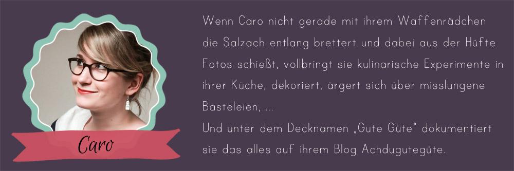 about-caro24 Days of Cookies - Gastautorin Caro von Achdugutegüte