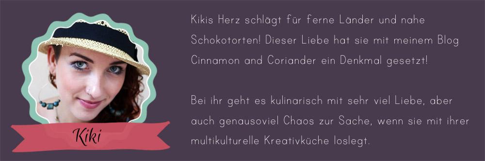 24 Days of Cookies - Gastautorin Kiki von Cinnamon and Coriander