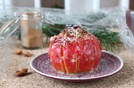 Bratapfel mit Nussfülle / Baked Apple with Nut Stuffing | orangenmond.at