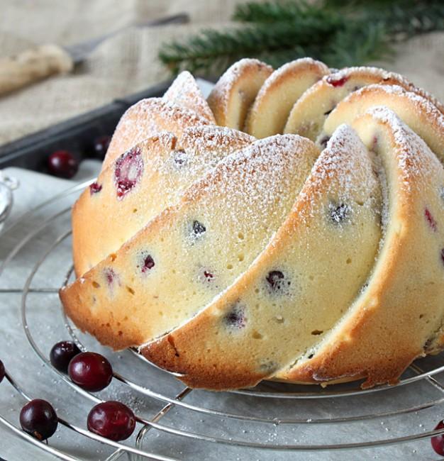 Cranberry & Buttermilch Gugelhupf