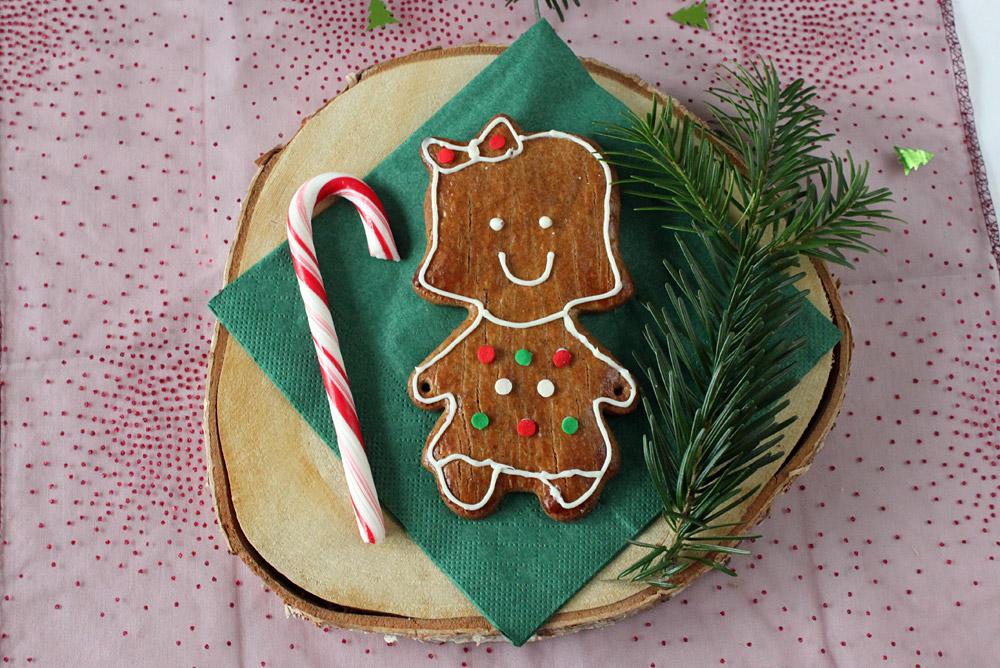Lebkuchenmännchen Platzkarten / Gingerbread Man Place Cards | orangenmond.at