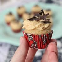 Mini Cider Cupcakes with Speculoos Cream / Mini Cider Cupcakes mit Spekulatius Sahne | orangenmond.at