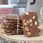 Schoko-Pistazien Biscotti / Chocolate Pistachio Biscotti   orangenmond.at