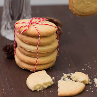 24 Days of Cookies - Day 18: Butterkekse