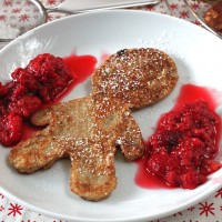 24 Days of Cookies - Day 21: Gingerbread Pancakes