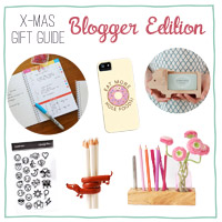 Christmas Gift Guide: Blogger Edition | Orangenmond