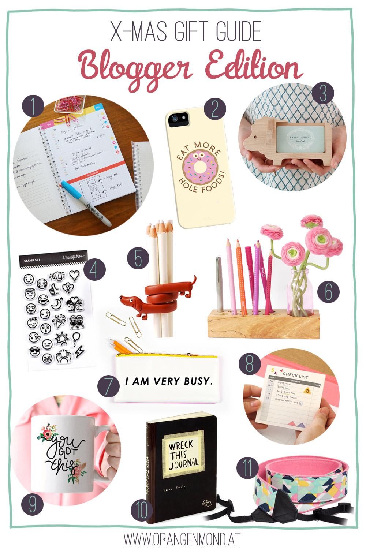 Christmas Gift Guide: Blogger Edition   Orangenmond